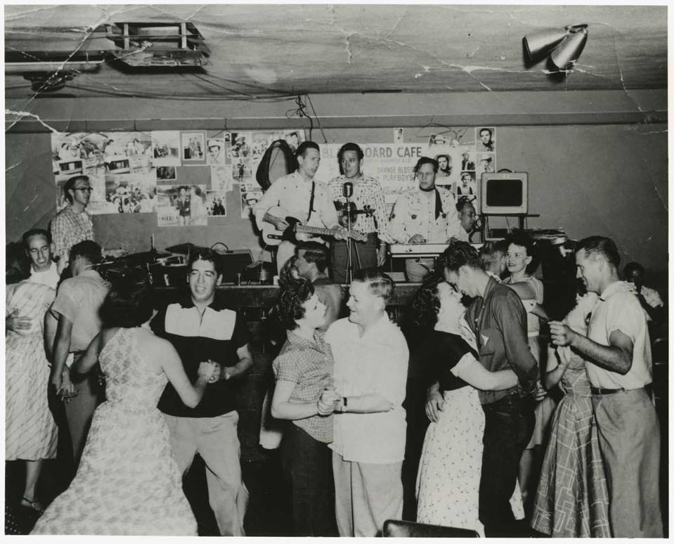 dancers in bakersfield in the 1960s.