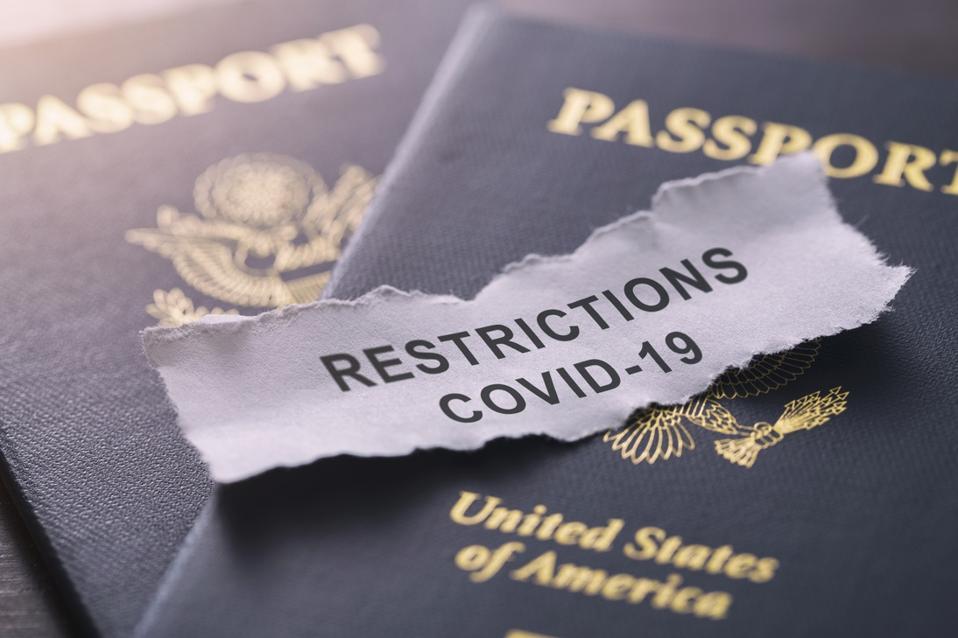 Covid-19 coronavirus international travel restrictions