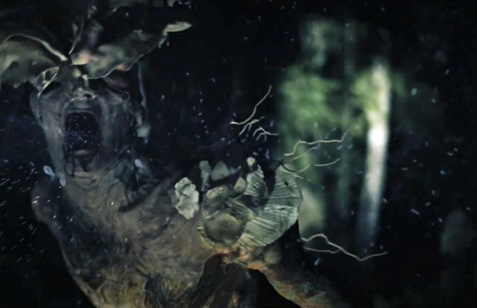 A forest creature, in Gaia (2021)