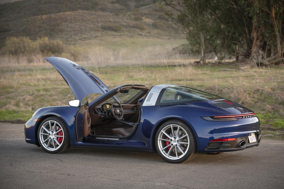 2021 Porsche 911 C4S Targa
