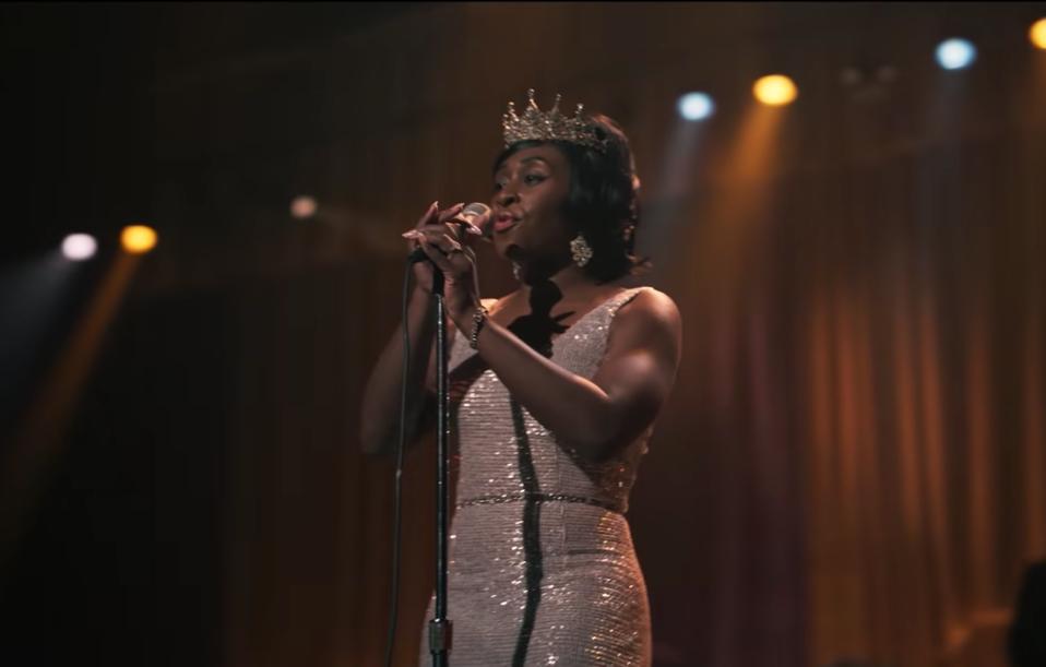 Actress Cynthia Erivo sings in the TV anthology series Genius: Aretha