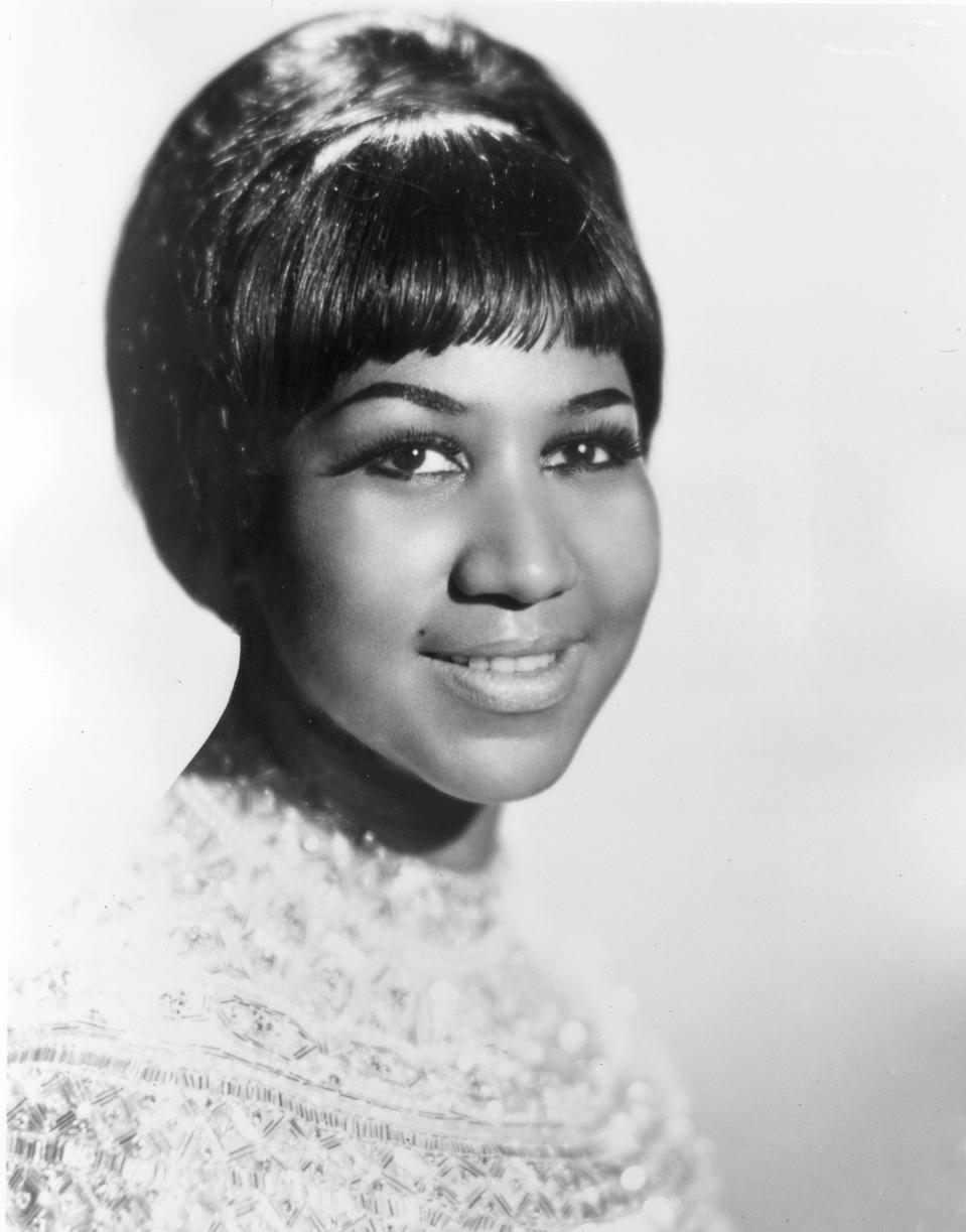 Aretha Franklin in 1960
