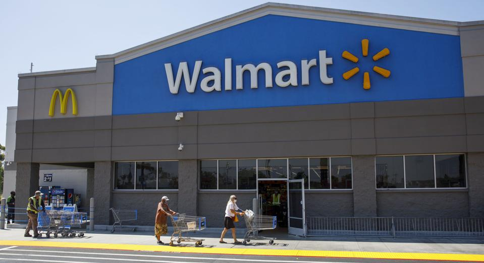 Walmart Joins Big Retail Peers Requiring Masks For U.S. Shoppers
