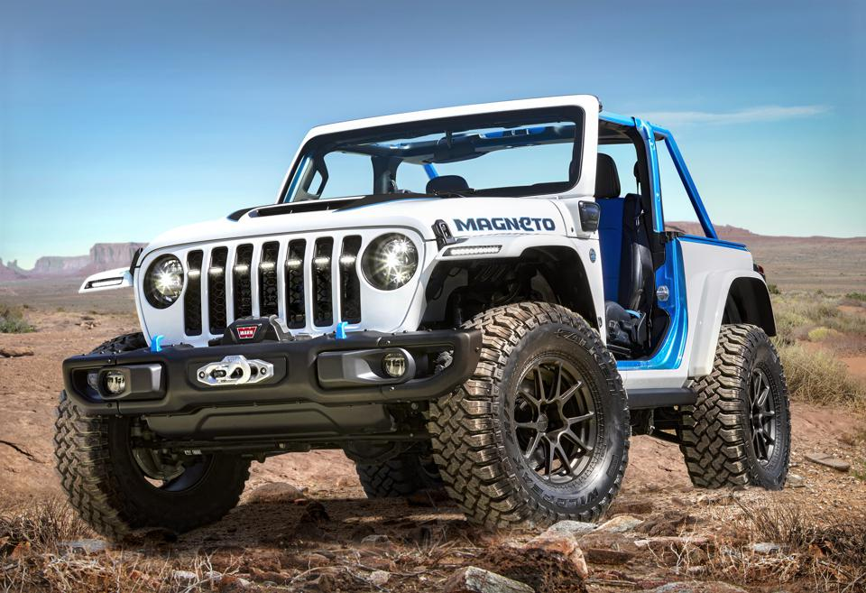 2021 Jeep Wrangler Magneto concept