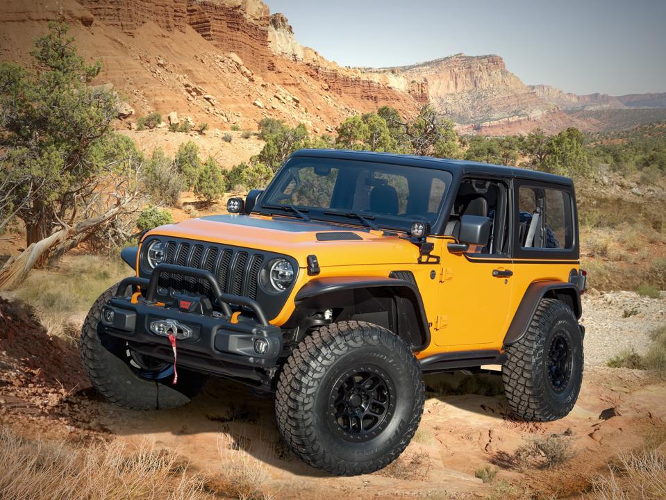 2021 Jeep Wrangler Orange Peelz