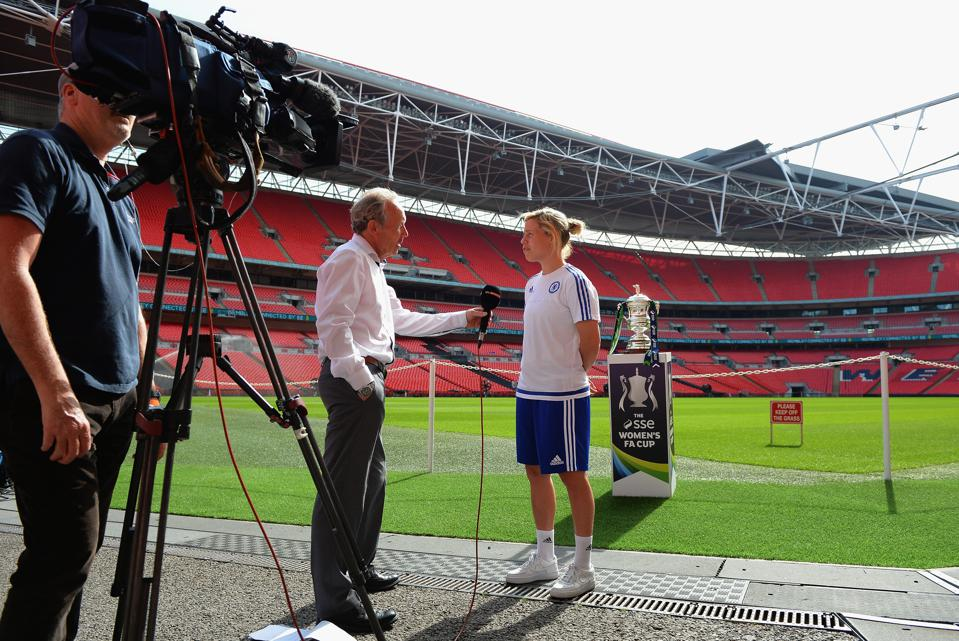 SSE Women's FA Cup Final - Wembley Media Day