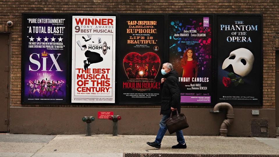 Theaters Across New York City Remain Dark