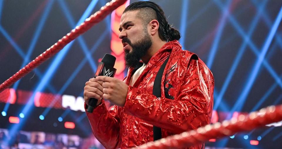 Andrade has been released from WWE.