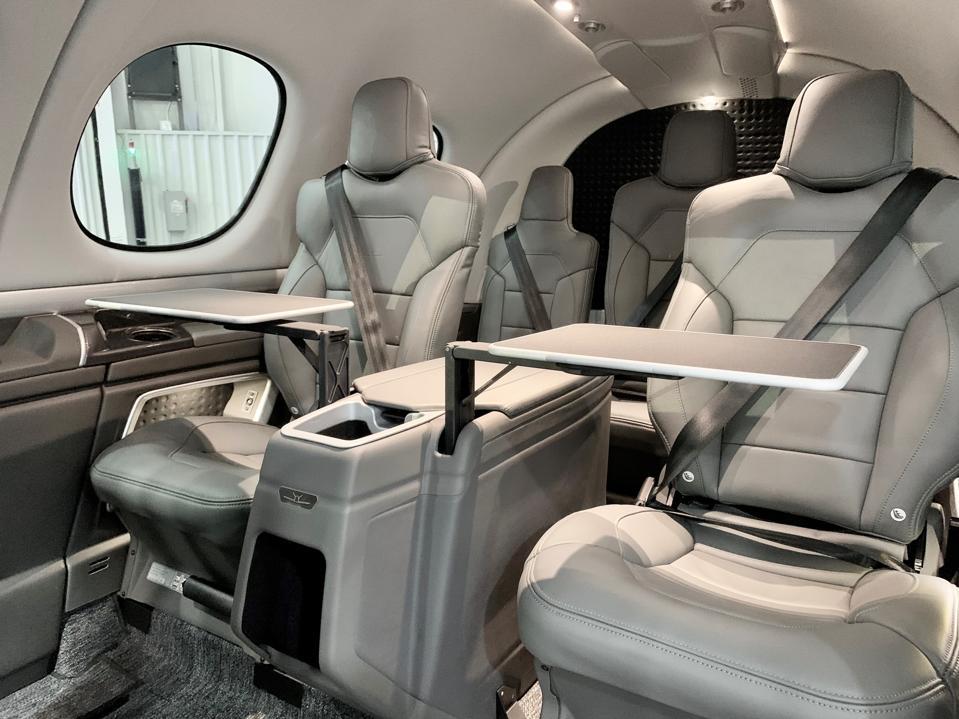 Vision Jet interior