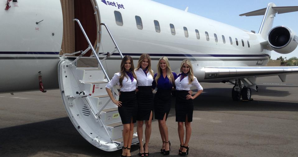 Set Jet Challenger 850