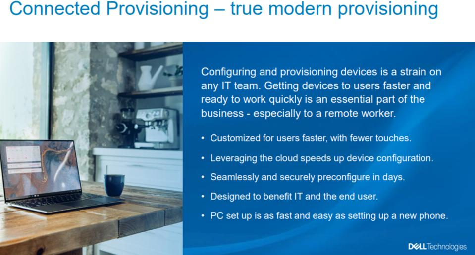 Connect Provisioning - true modern provisioning