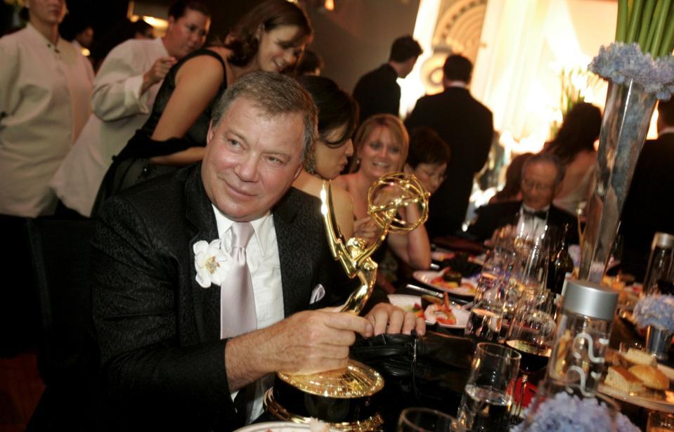 Emmy Award winner William Shatner at the Governer's Ball at 57th Annual Primetime Emmy Awards.