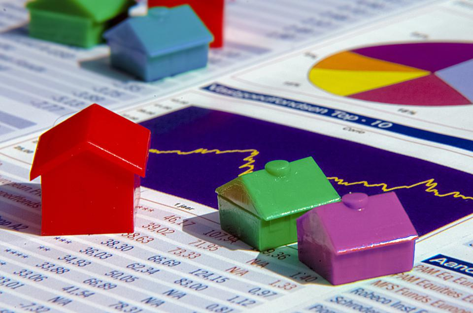 Financial statistics on the housing market for estate agents