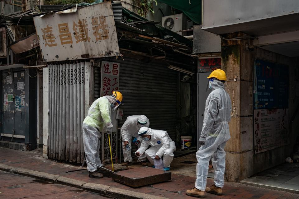 Mandatory COVID-19 Testing As Hong Kong Cluster Grows