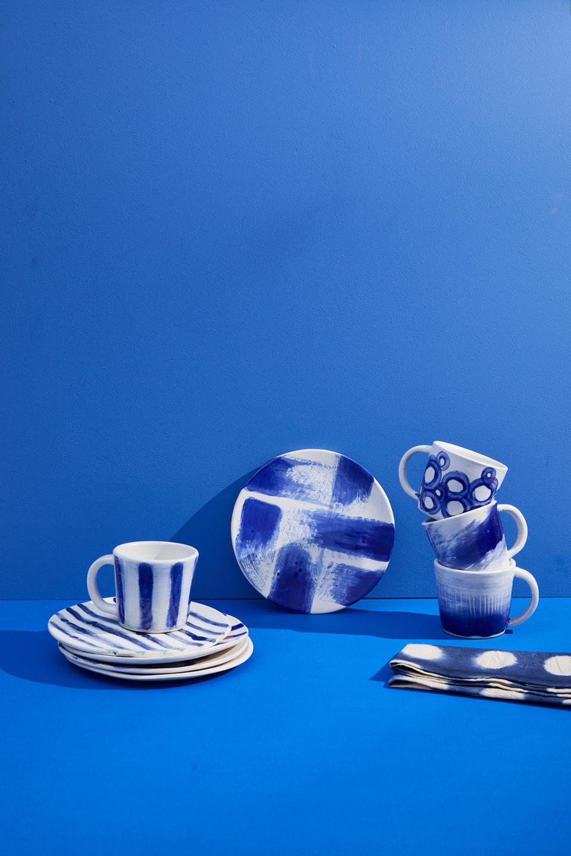 Ceramic plates and mugs by Accompany.