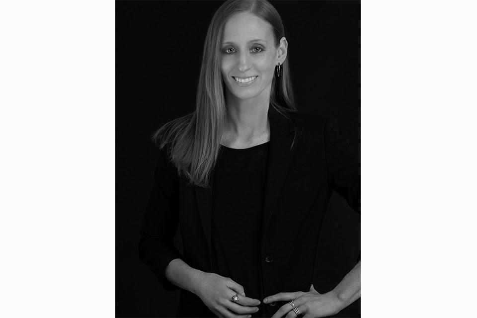 The designer, Melissa Kaye