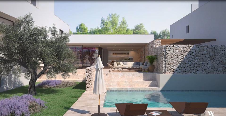 swimming pool luxury home in Ibiza, Spain Immobiliaria Rimontgo