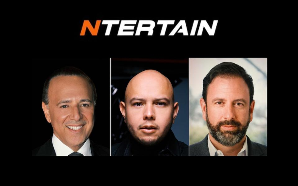 Tommy Mottola, Lex Borrero and Peter Micelli