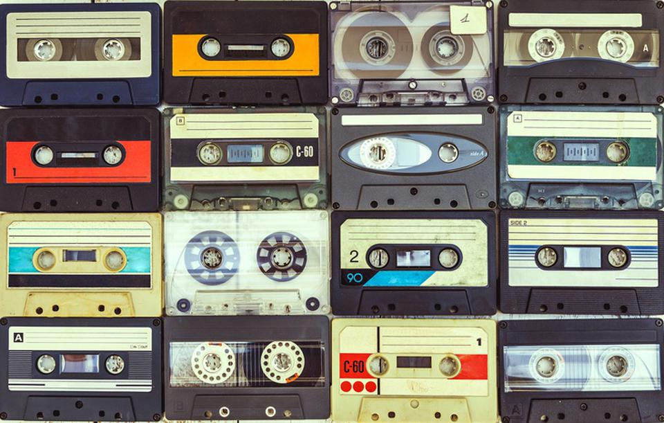 Audio cassettes have spiked during the pandemic