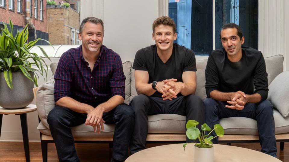 Ro cofounders Rob Schutz (L), Zachariah Reitano, Saman Rahmanian (R).