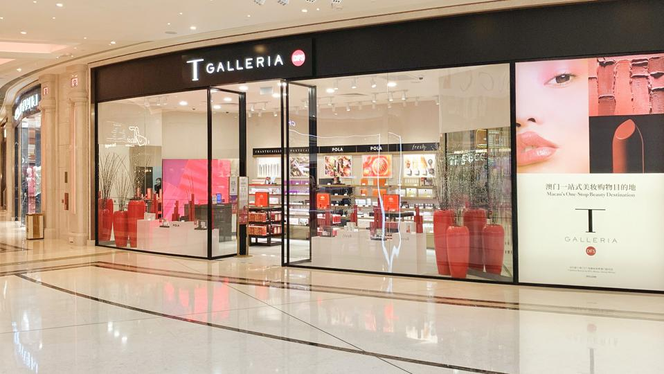 DFS T Galleria beauty pop-up at the Galaxy.