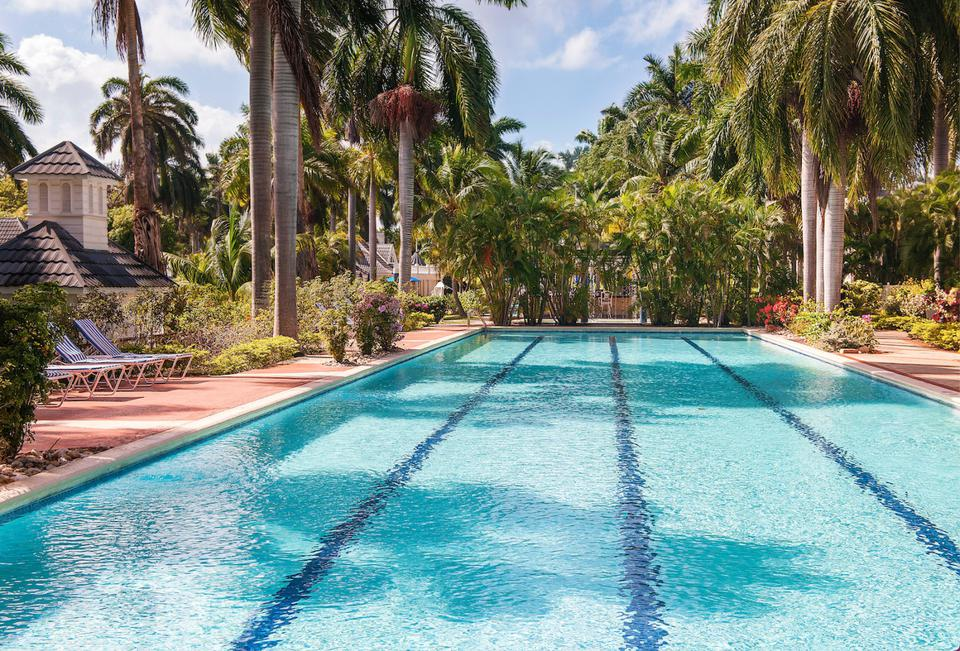 Olympic-sized Lap Pool at Half Moon, Montego Bay