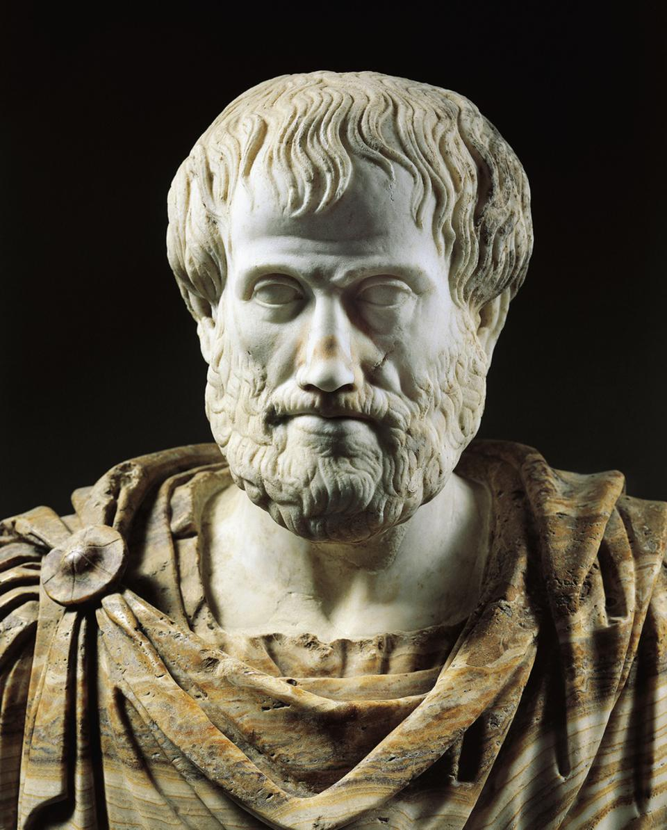 Bust of Aristotle...