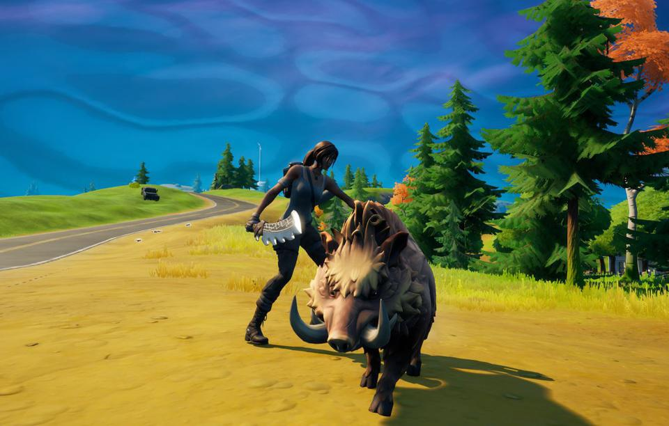 How To Tame A Boar In 'Fortnite'