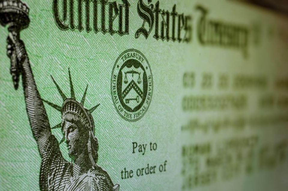 USA government check