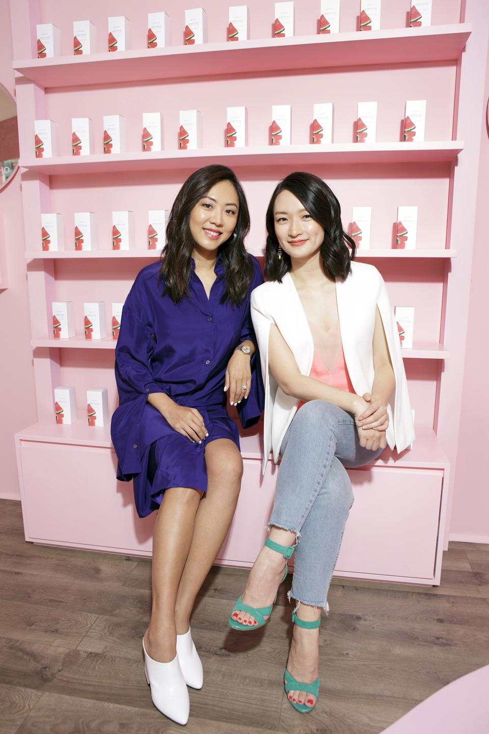 Sarah Lee and Christine Chang, Co-Founders & Co-CEOs of Glow Recipe