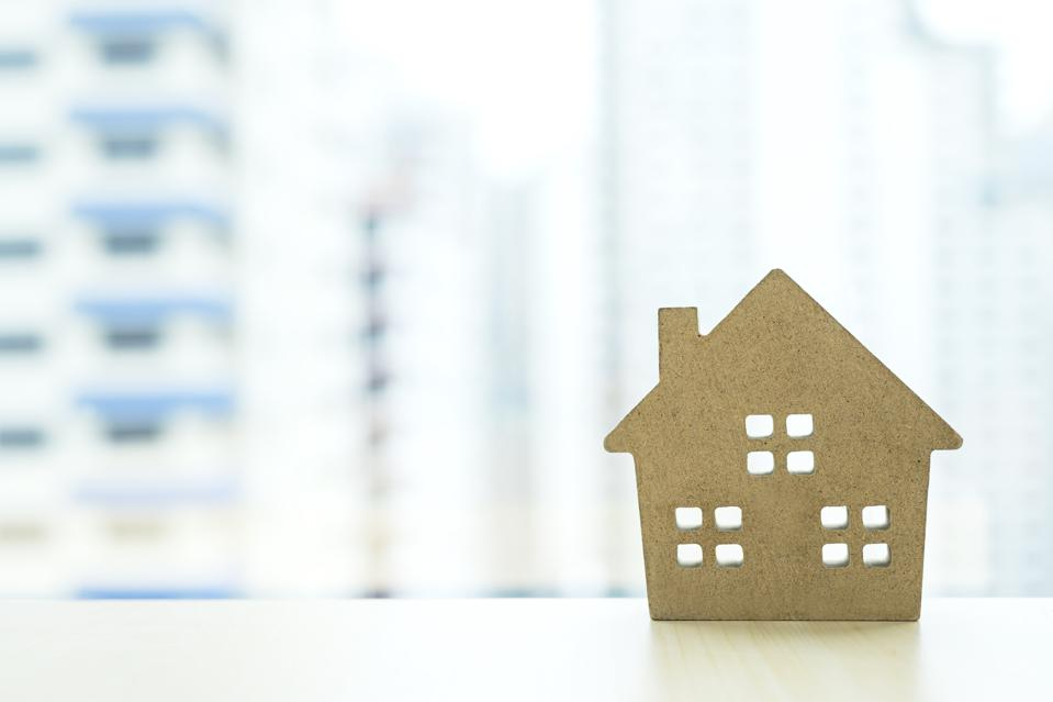 House or Apartment agency for real estate. House insurance concepts.