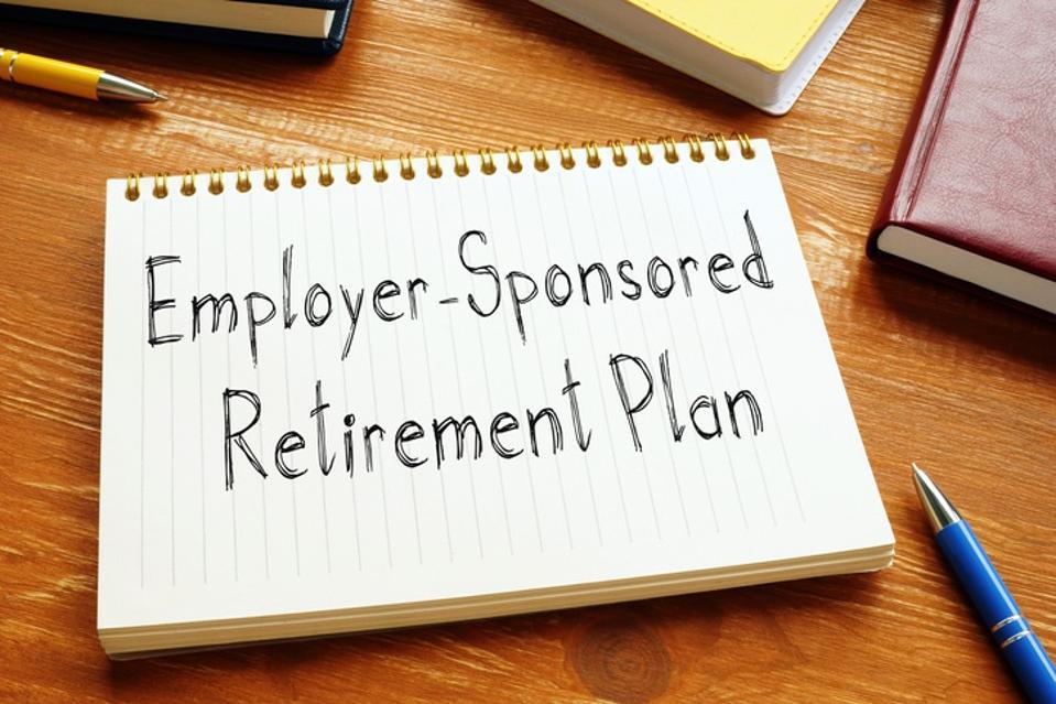 Employer retirement plan.