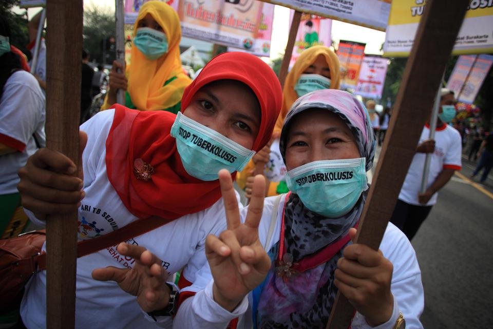 Rally Marking World Tuberculosis Day In Indonesia