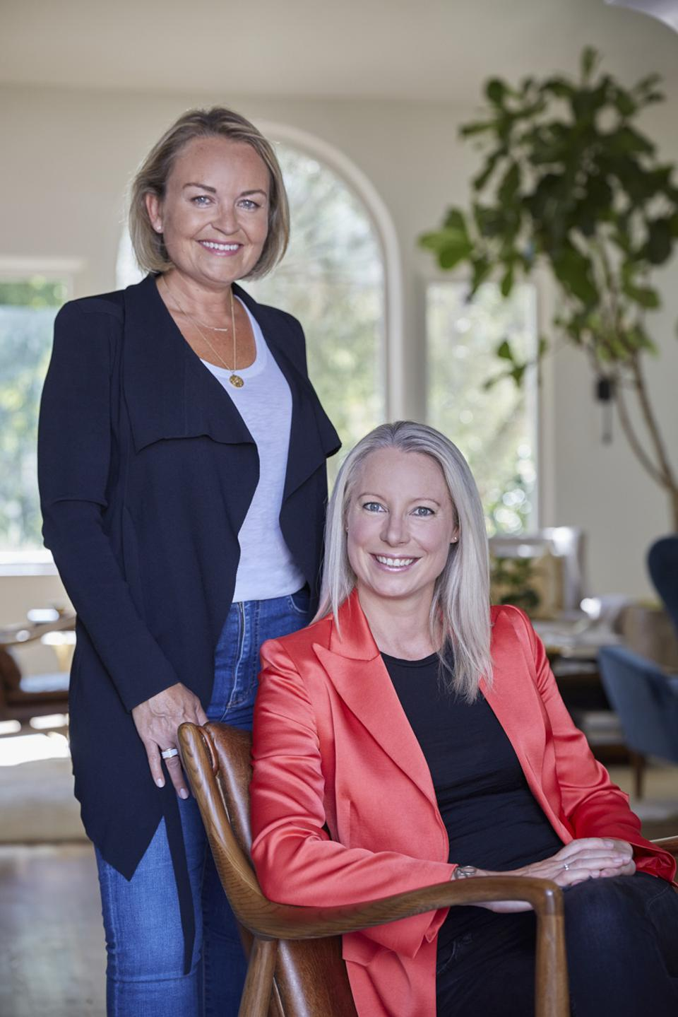 Kate Vale and Marisa Warren, Co-founders and General Partners at ALIAVIA