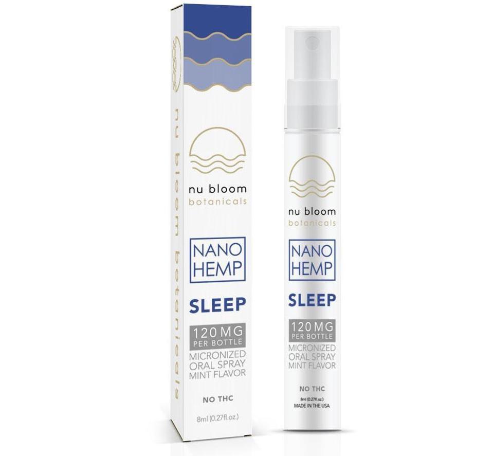Nu Bloom Botanicals Sleep Oral Spray