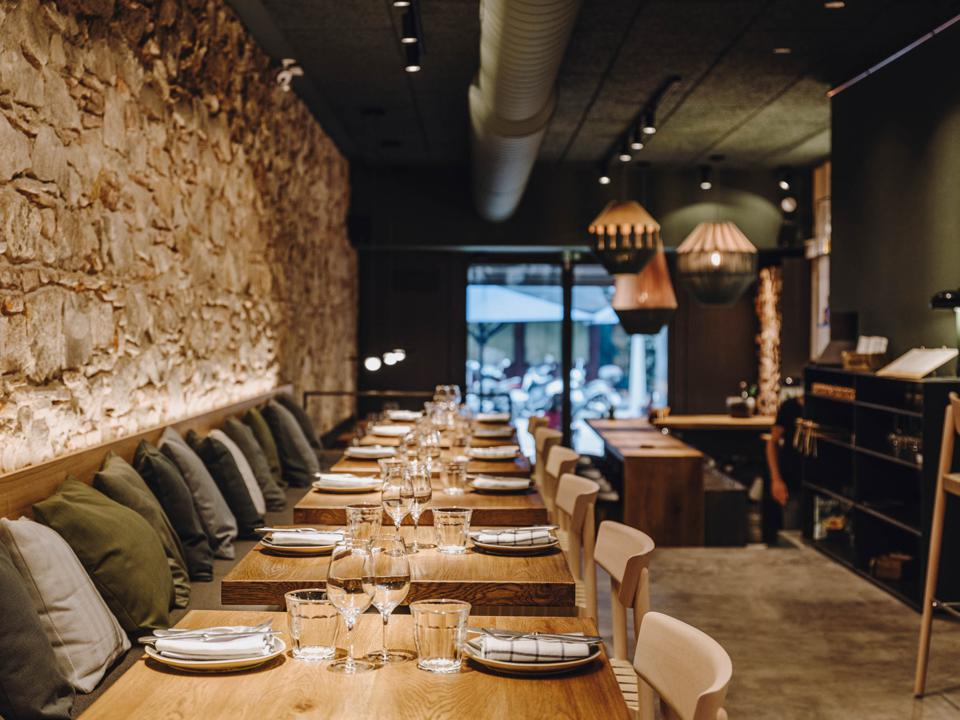 Interior shot of Palo Verde restaurant.