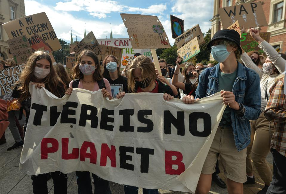 Krakow For Climate Justice Protest
