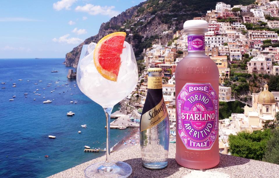Starlino Rosé Apertivo makes for a pretty-in-pink Italian spritz