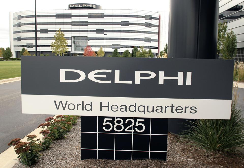 Auto Parts Supplier Delphi Files For Bankruptcy