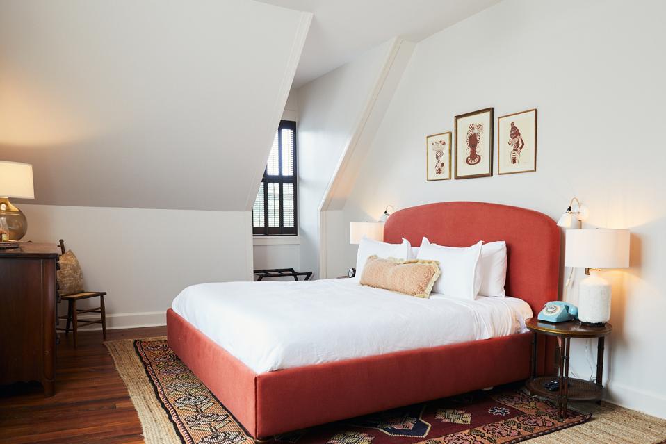 Hotel room in Charleston