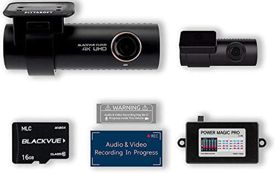 BlackVue DR900S-2CH with 16GB Micro SD Card and Kit