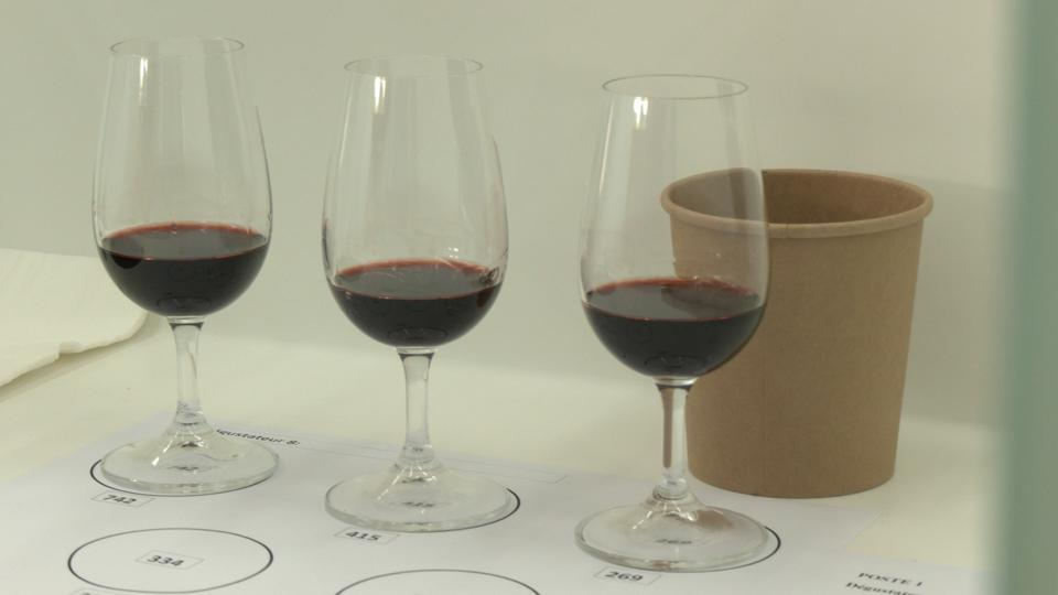 Wine aged in space seemed to change in color, with experts noting ″light brick″ hues.