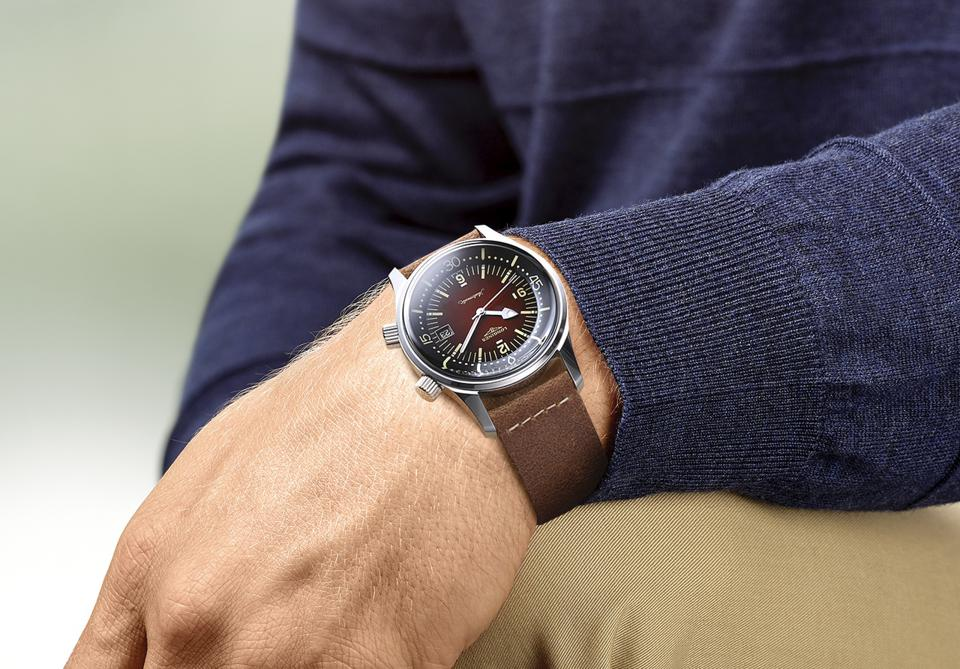 Legend Diver with new brown gradient dial