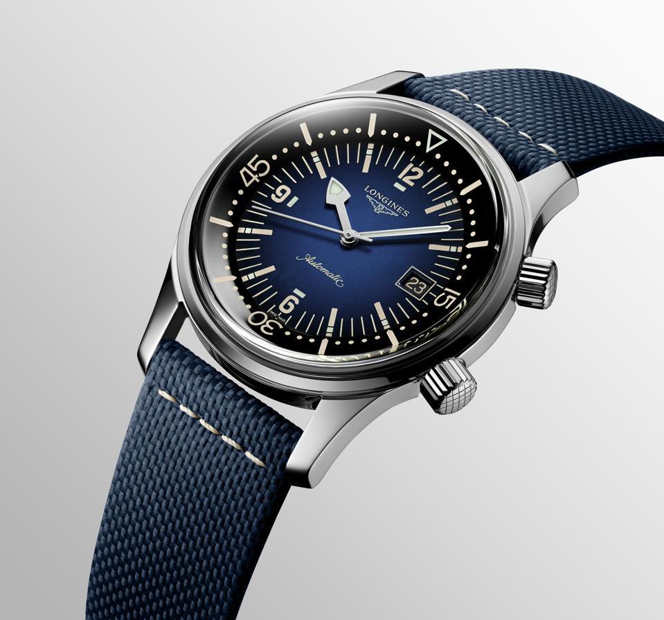 Longines Legend Diver blue dial ref. L3.774.4.90.2