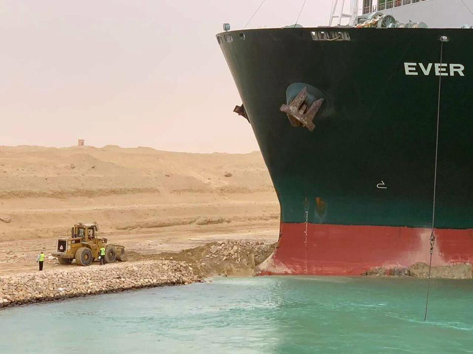 CORRECTION Egypt Suez Canal
