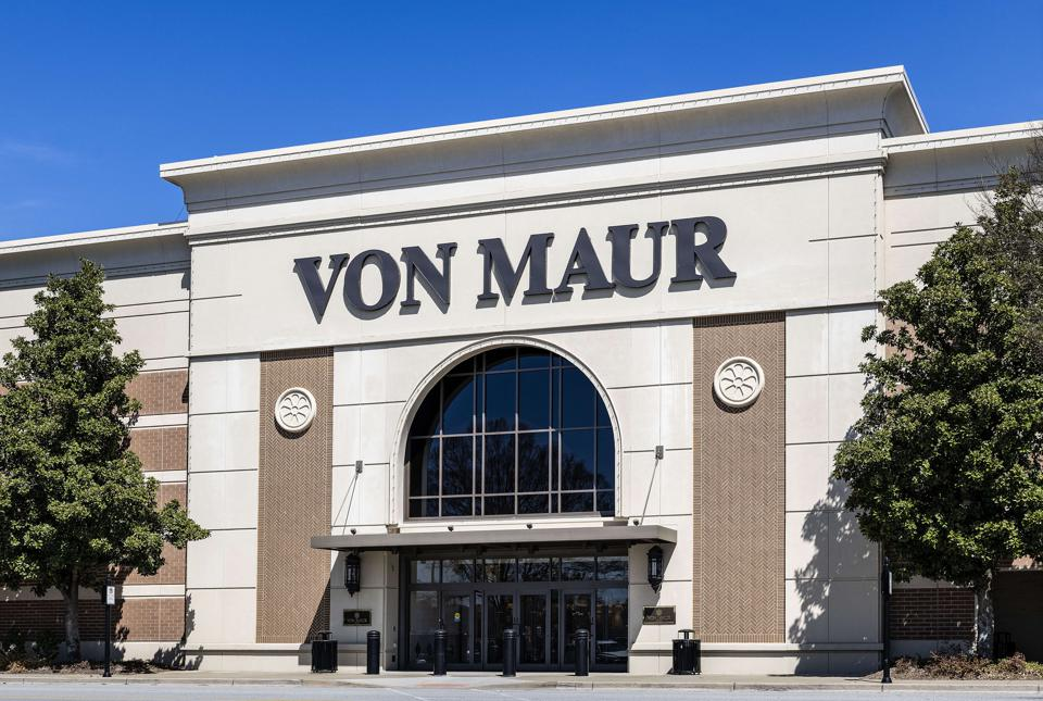 Von Maur department store...