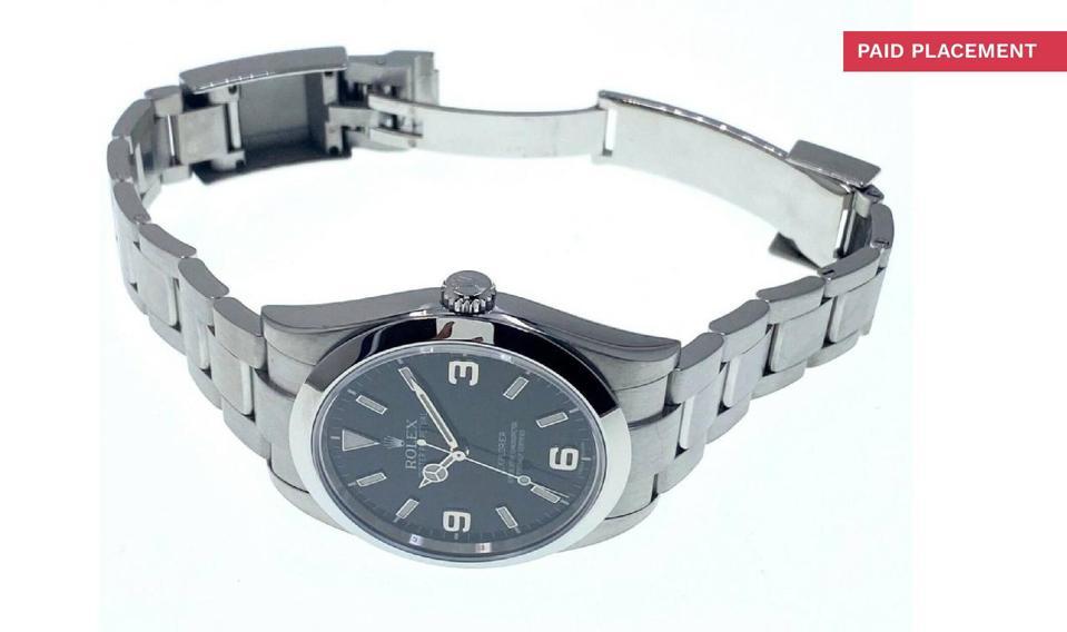 Rolex Explorer Men's Black Watch - 214270 for sale online