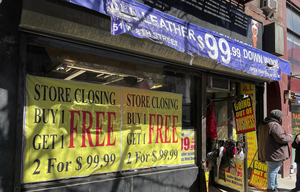 Store closures and homelessness run rampant in NYC