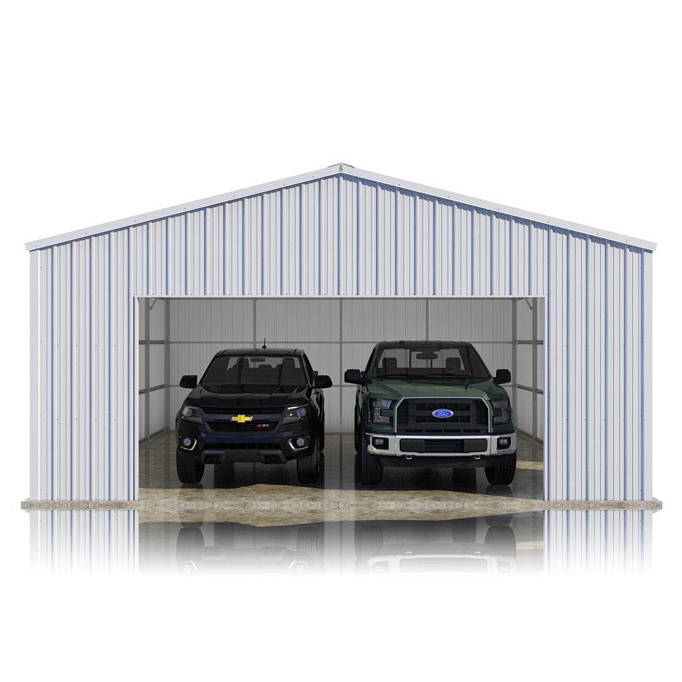 VersaTube's 24' x 24' x 10' Summit Garage Kit