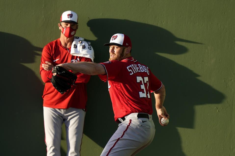 Nationals Astros Spring Baseball